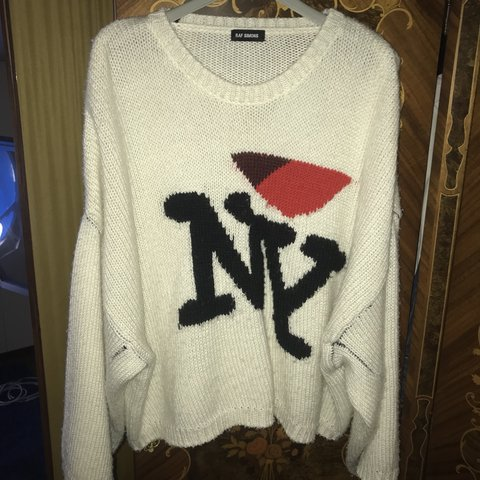 Raf Simons Sweater I Ny Cond 910 100 Real With Tags S Depop
