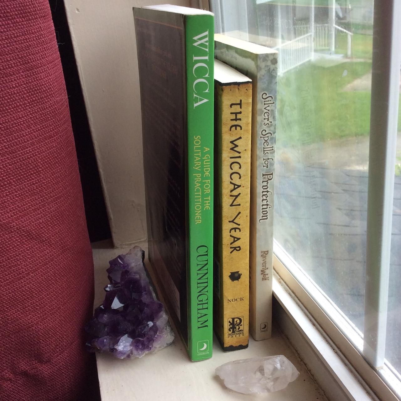 3 Wicca books  All previously loved  Got from a    - Depop