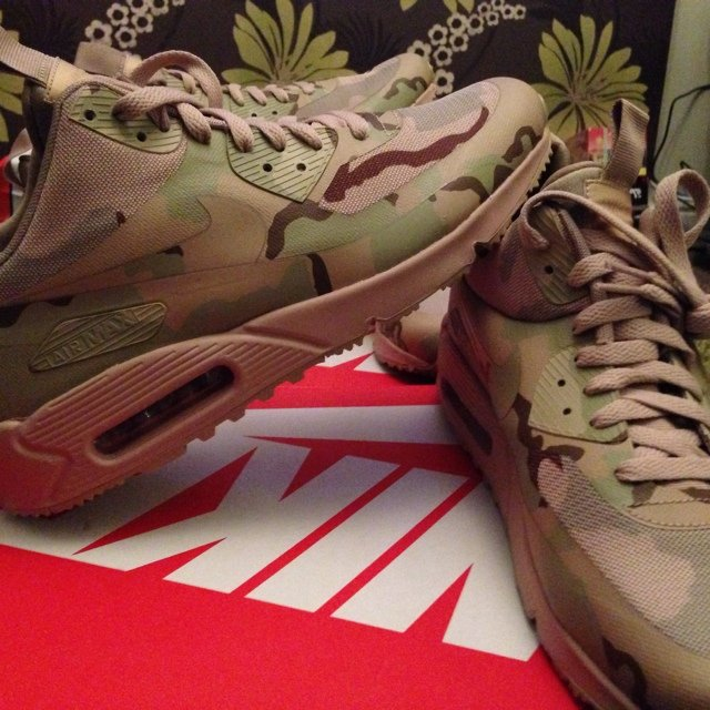 purchase cheap b2bcc 71b67  crepfam. 5 years ago. Leicester, United Kingdom. Nike Air Max 90  Sneakerboot  Country Camo  ...