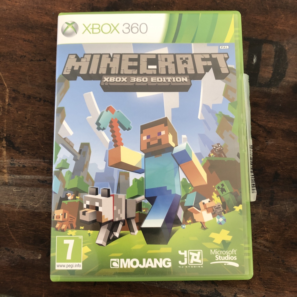 Minecraft xbox 360 game, played a few tones, minor    - Depop