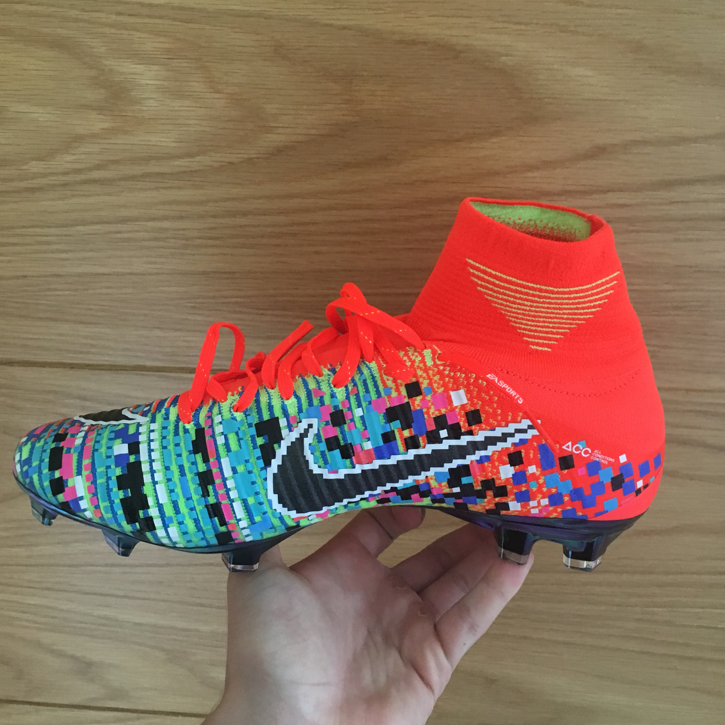 promo code 8cfb9 c0a99 Nike Mercurial Superfly X EA Sports SE FG Football... - Depop