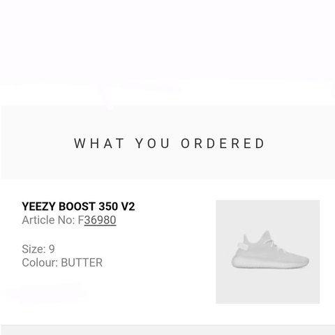 508611fe2 ADIDAS YEEZY BOOST 350 V2 BUTTER SIZE 9 UK DEADSTOCK WITH AS - Depop