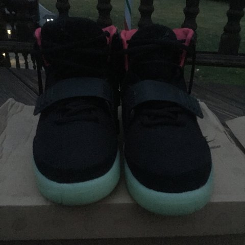 c1e68937f96 Air yeezy 2 NRG solar red sz 10 deadstock authentic. Open to - Depop
