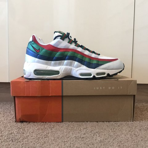 4f19d1051 Nike Air Max 95 Mexico World Cup 2006 FREE FIRST CLASS rare - Depop