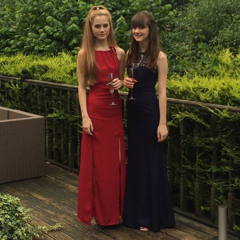 Red Prom Dress Bought From Nasty Gal And Worn Once For Has Depop