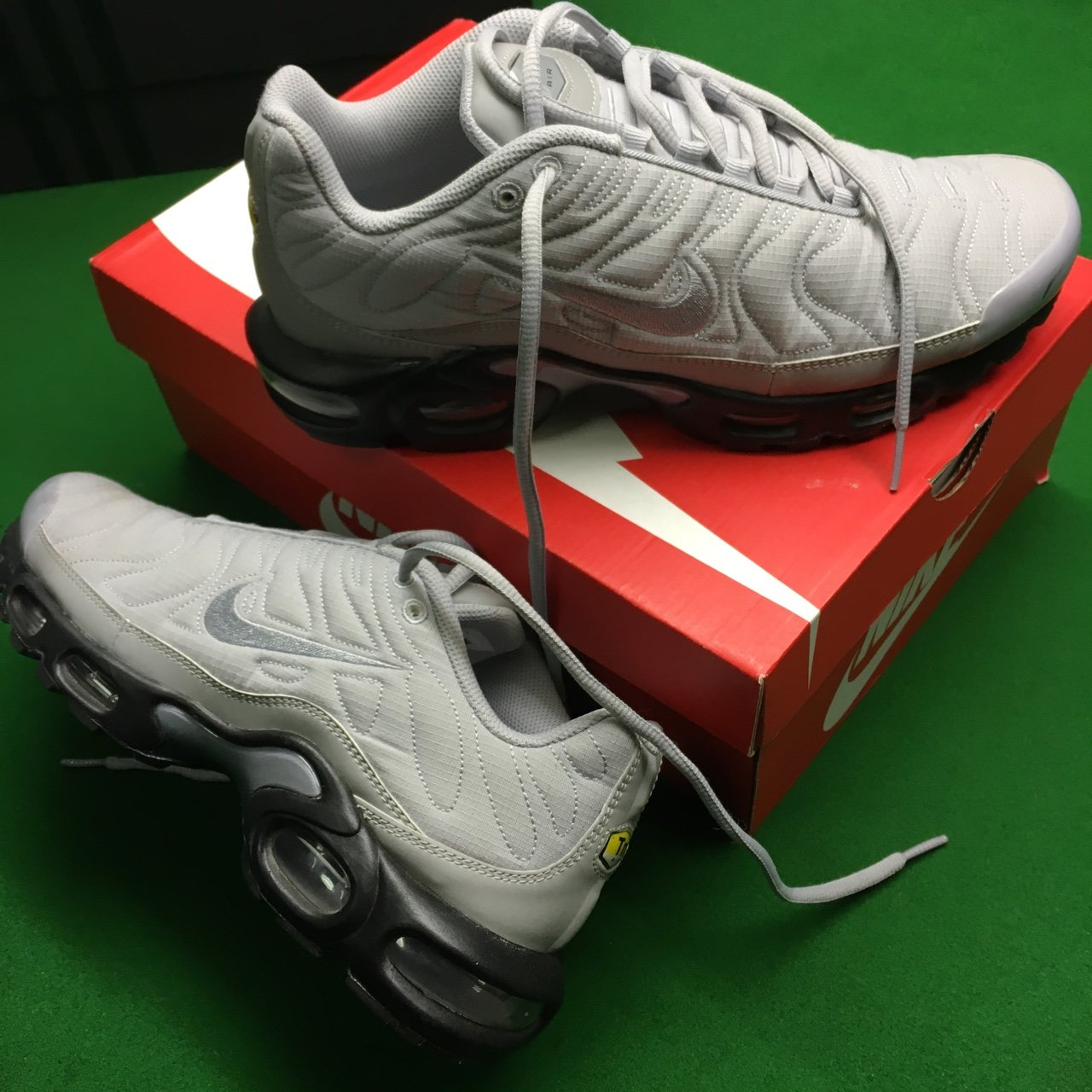 best service 7f917 22b8d Very limited edition Nike tuned 1 quilted   Nike tn   Nike - - Depop