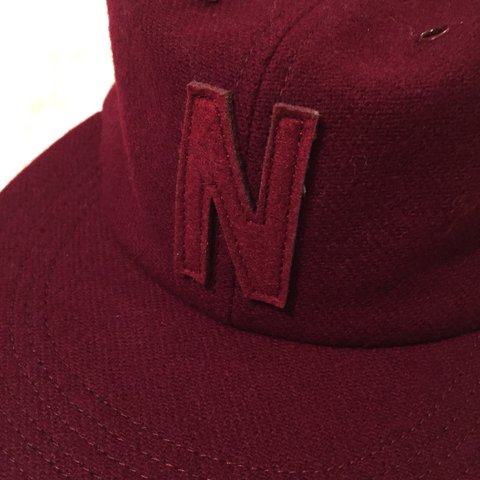 6768a30d8e5 NORSE PROJECTS Unisex CAP. Wool   Felt Fabric. Maroon Red - Depop