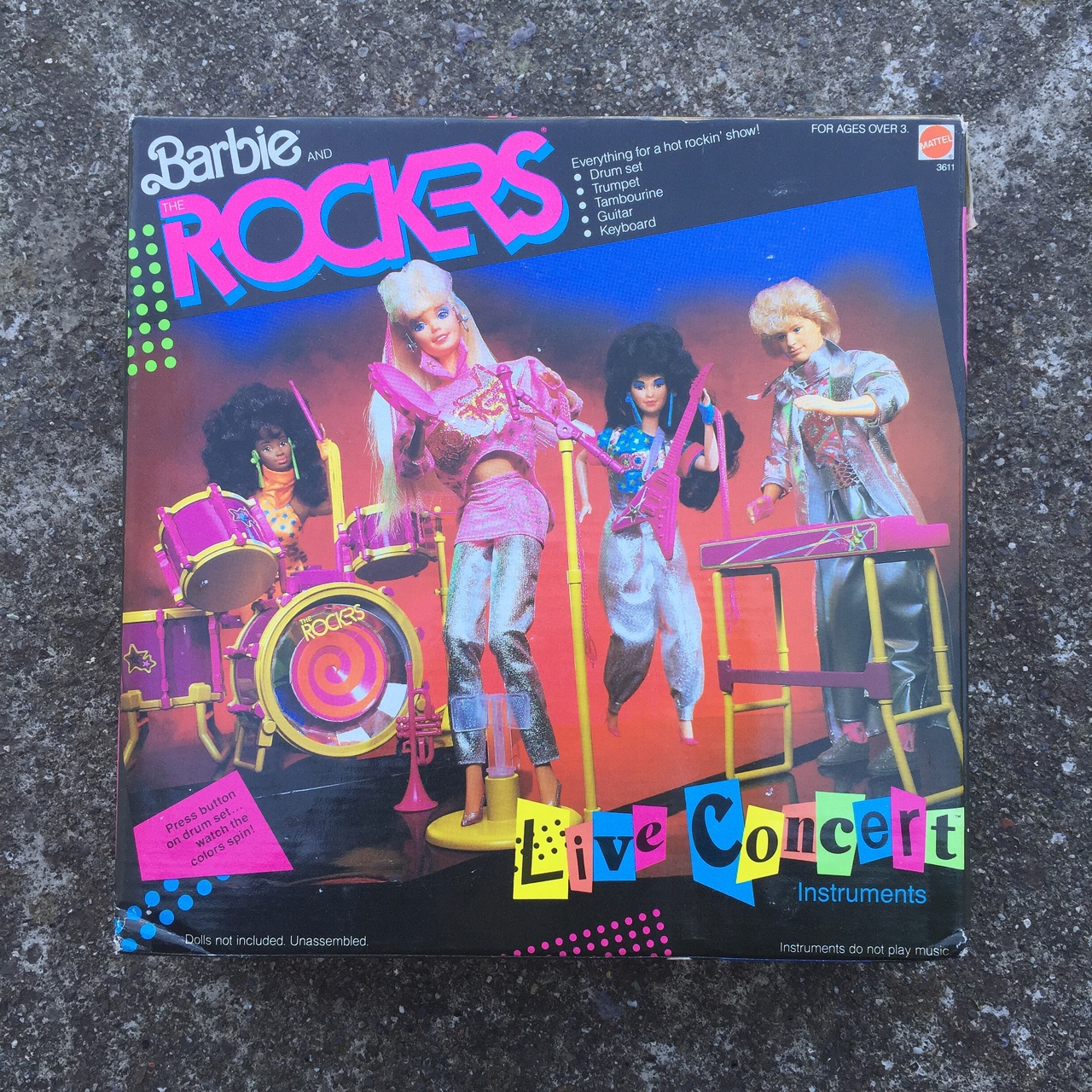 footwear special for shoe best online Barbie Rockers 1986 live concert play set. Sealed in... - Depop