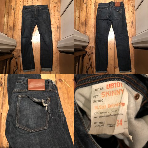 a9f8a55061668c @donkadonkadonk. last year. London, UK. The Unbranded Brand UB101 skinny  selvedge ...