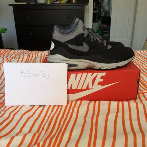 a348d2fc0c @bjeanjacques. 11 months ago. London, United Kingdom. Nike Air Max 93 Black  / Cool Grey - Anthracite - Pure Platinum Size 12 UK ...