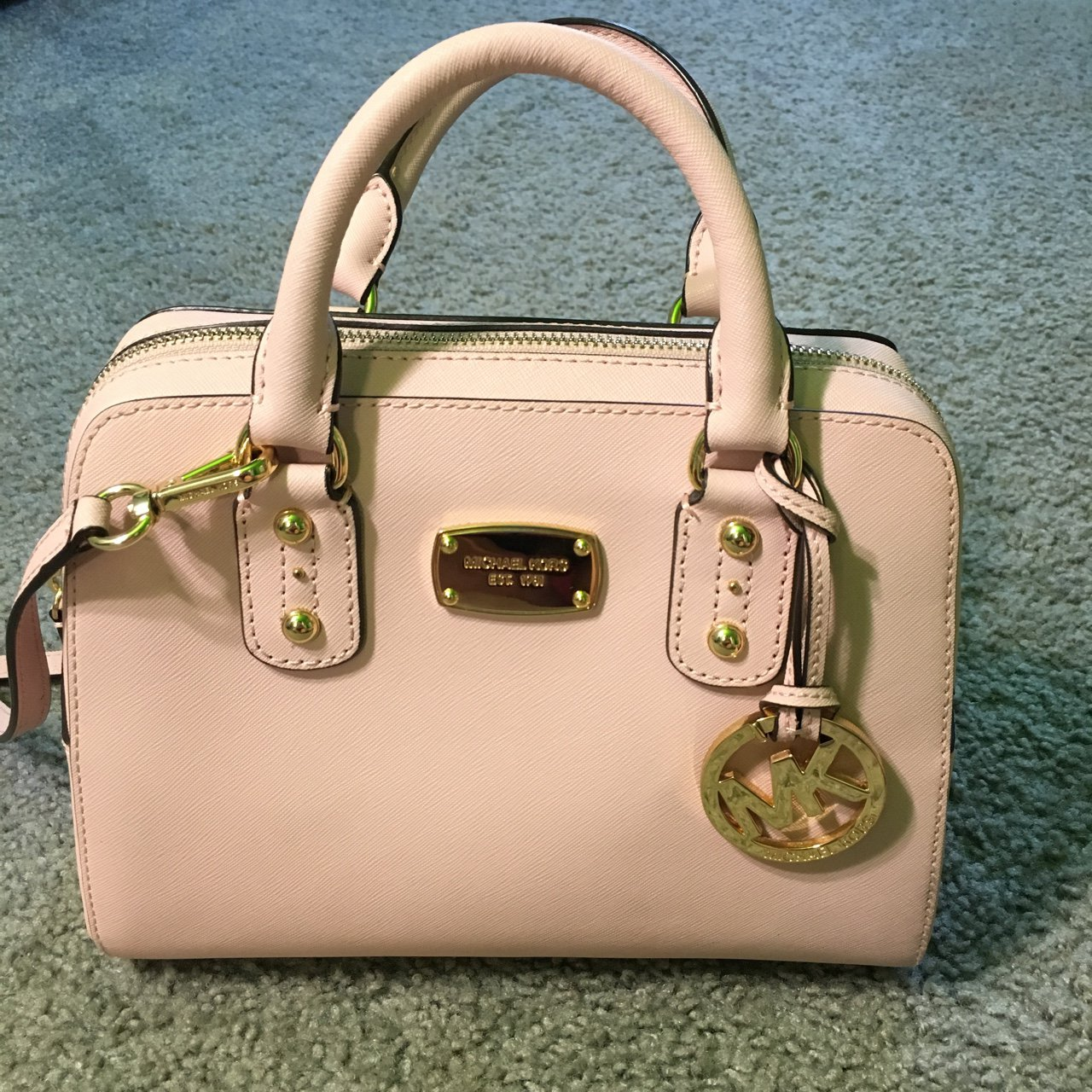 5b443c36c574 Authentic blush pink Michael Kors Purse/Handbag. Amazing in - Depop