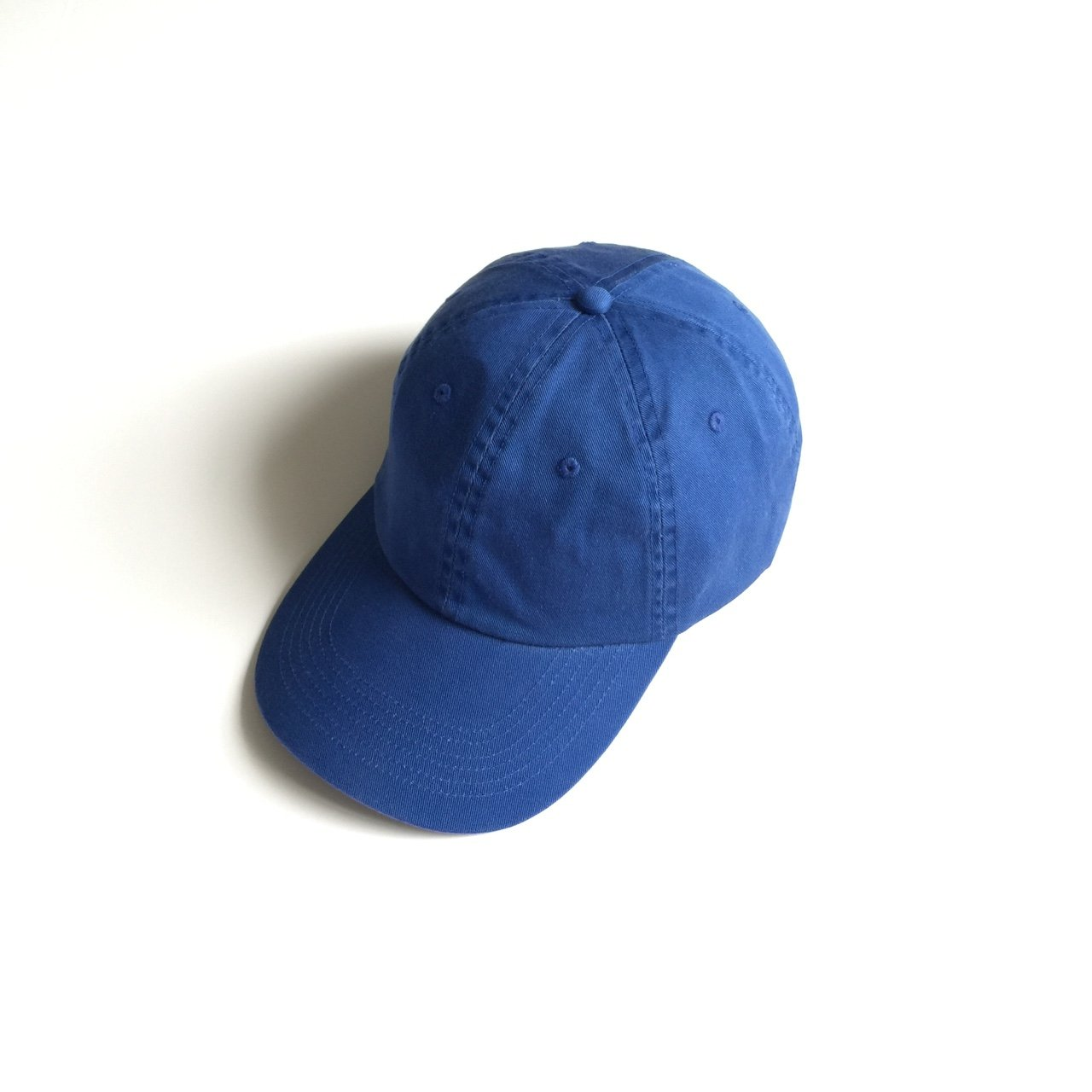 7b7d434f901 Deadstock plain Monocromatic blue Dad strapback Hat Awesome - Depop