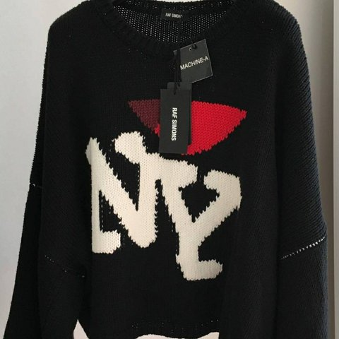 Raf Simons I Love Ny Sweater With Tags Fits Like Large Depop