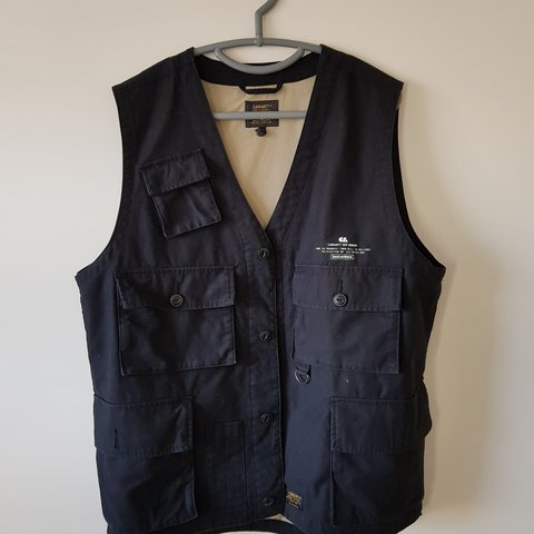 b8d2240322931 @ch_png. last year. Blakedown, Worcestershire, United Kingdom. carhartt wip utility  vest size XL 9/10 condition ...