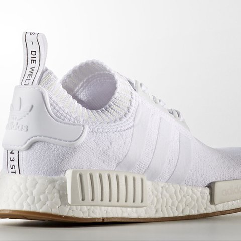 f724da471d3a3 Anyone interested in Adidas NMD R1 PK White Gum size 9.5 uk. - Depop