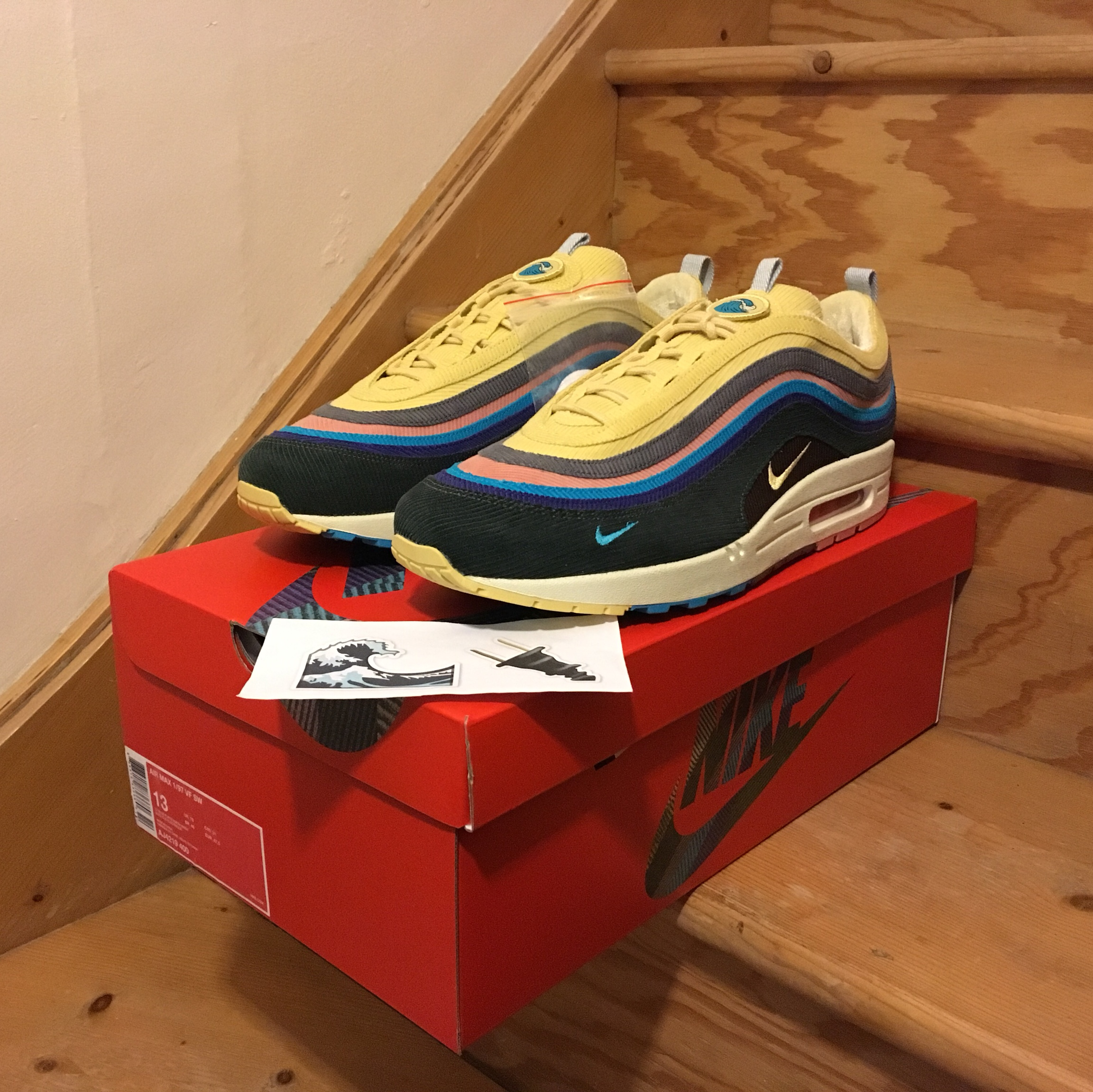 Nike Air Max 1/97 Sean Wotherspoon Size