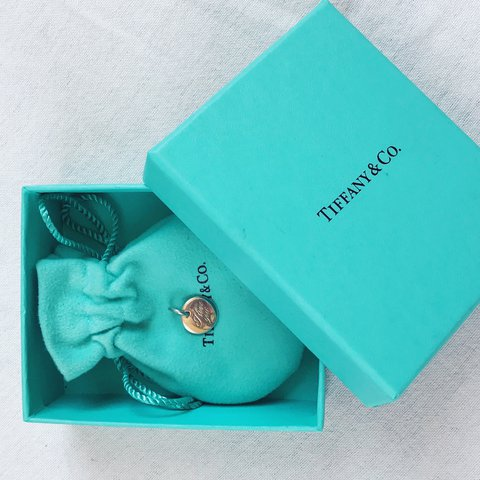 b3144cea43 LETS NETGOTIATE! 😘 Authentic Tiffany and Co. 'I love you' a - Depop