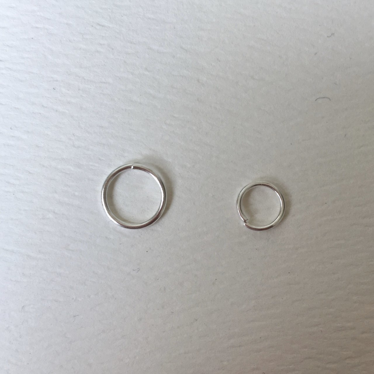 Fake Nose Ring 6mm Or 8mm 0 8mm Thick 2 For Depop
