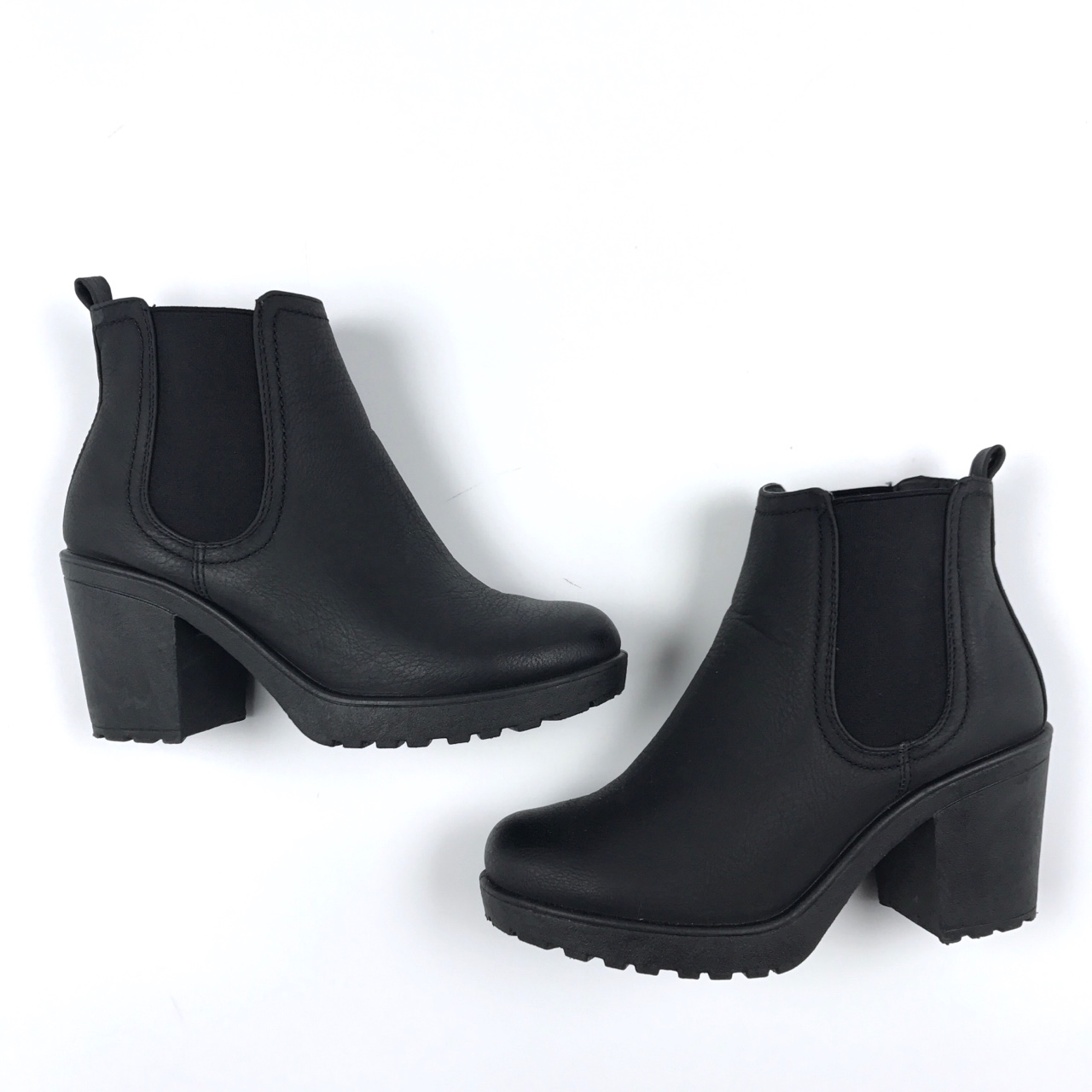 2bc34d5c148 Tia Chunky Cleated Heel Chelsea Boot. The brand is... - Depop