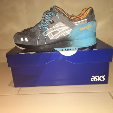 0eeabe23cabf asics x Slam Jam Gel-Lyte III 6th PRLLL   DS   Condition    - Depop