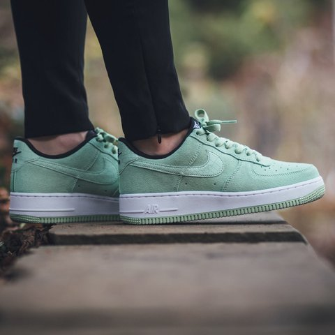 82a59a7afa82 Mint Nike Air Force Ones - Size UK 5.5 - Hardly Worn as too - Depop