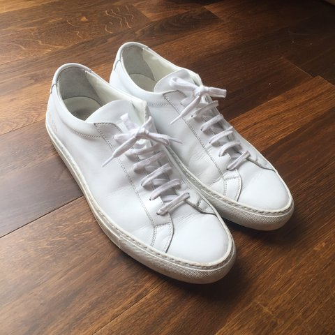 WOMAN COMMON PROJECTS WORN ONCE BOX INCLUDED Original Low - Depop 041e8b818