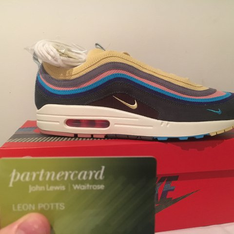 d7bdd8f3c37 Sean Wotherspoon x Nike air max 97 1 DS Size UK 9.5 Also in - Depop