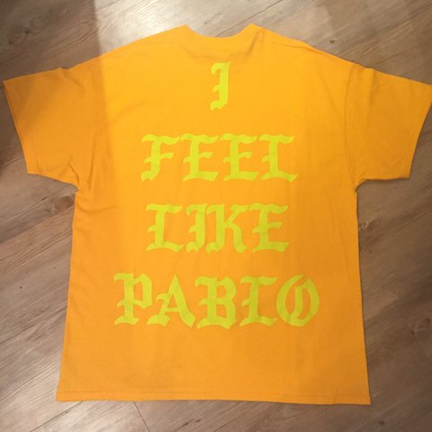 471c02c7 The Life of Pablo tee from pop up shop in Atlanta. I feel on - Depop