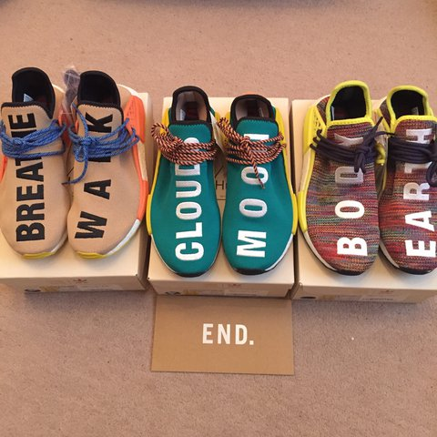 16df9e693 Adidas HU Race Trail All Uk 8.5 All won from End £350 - Depop
