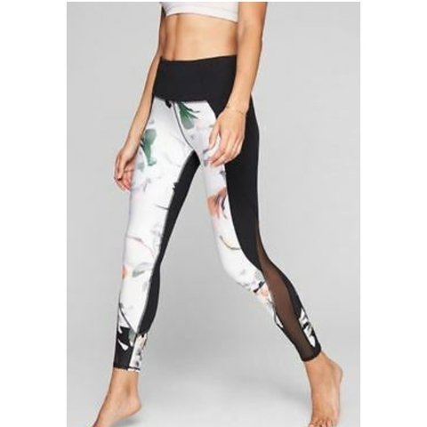 8add2b44f8f64 @drippingdream. 2 months ago. Boston, United States. Athleta Blossom  Intuition 7/8 Leggings Size Medium.