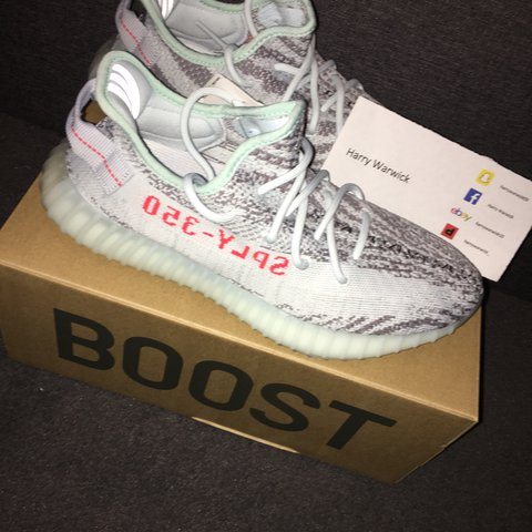 a2e91309c59 WTS Yeezy Boost 350 V2 Blue Tint Size UK 7.5 DSWT - Copped - Depop