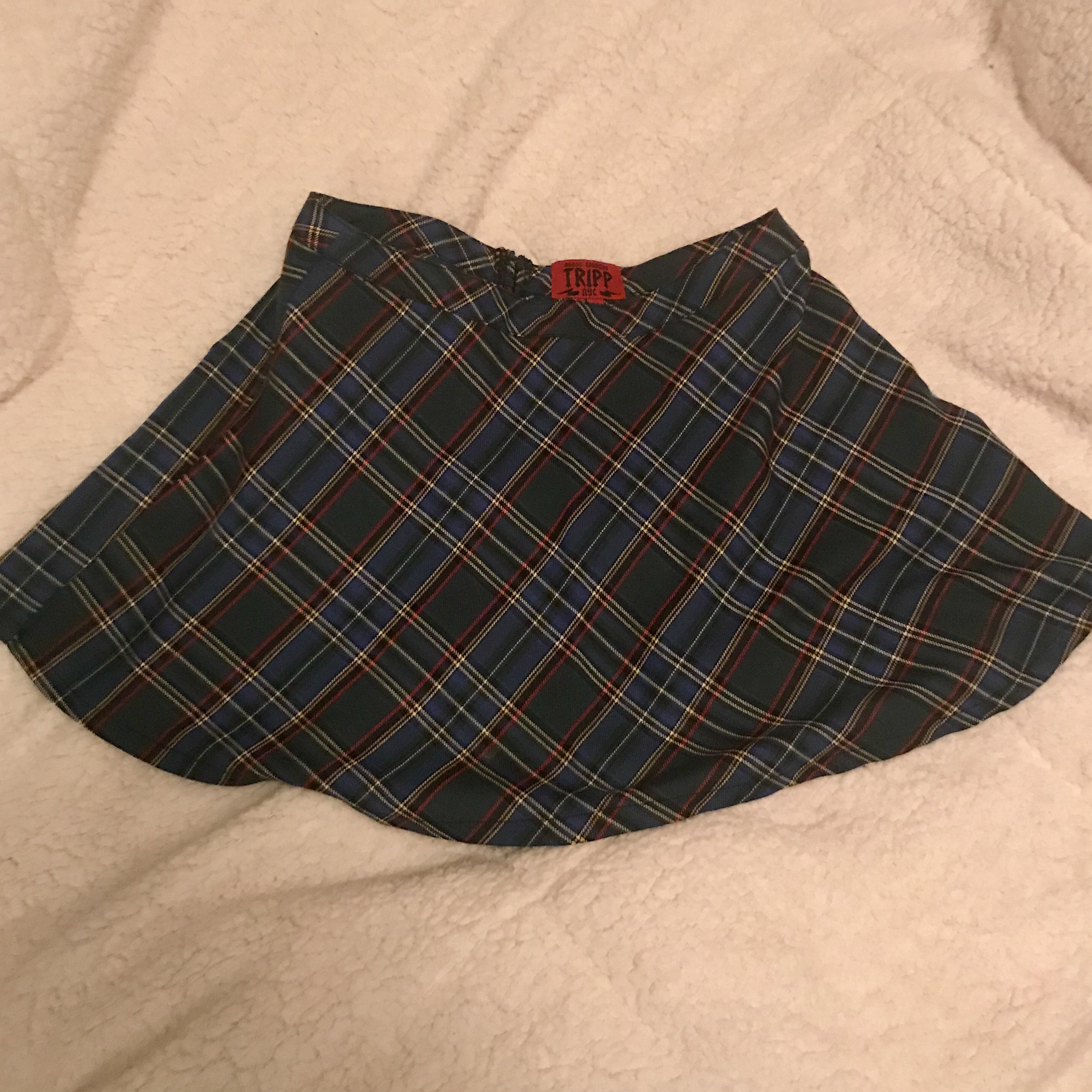 a9778d29213 Tripp NYC Plaid Mini Skirt. Good condition. Zip in back. - Depop