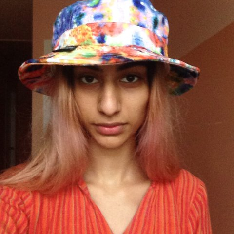 trippy colorful chuck bucket hat !!!! i was obsessed with i - Depop 0f61f36797b0