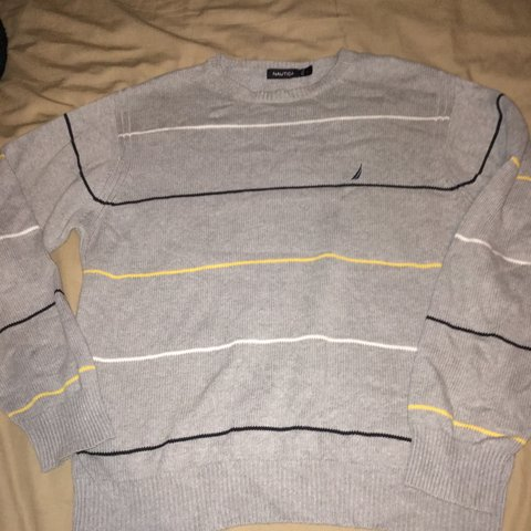 nautica  sweater  large like new not  tommyhilfiger  not - Depop f735348ab