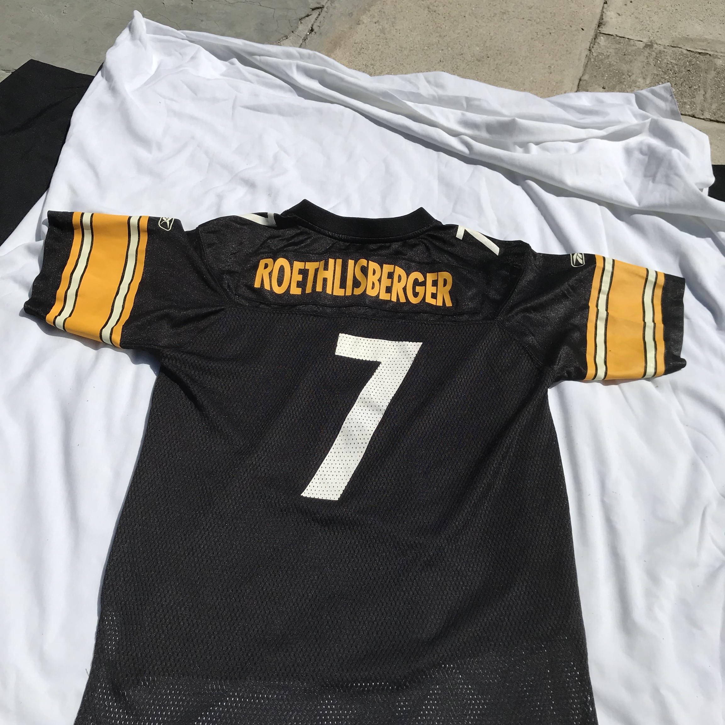 quality design 34f50 4153a Pittsburgh Steelers Ben Roethlisberger jersey large... - Depop