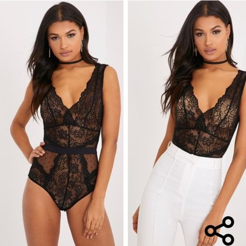 181c2c4a931a @charley7. 9 months ago. Leeds, United Kingdom. Prettylittle thing | lace  bodysuit ...