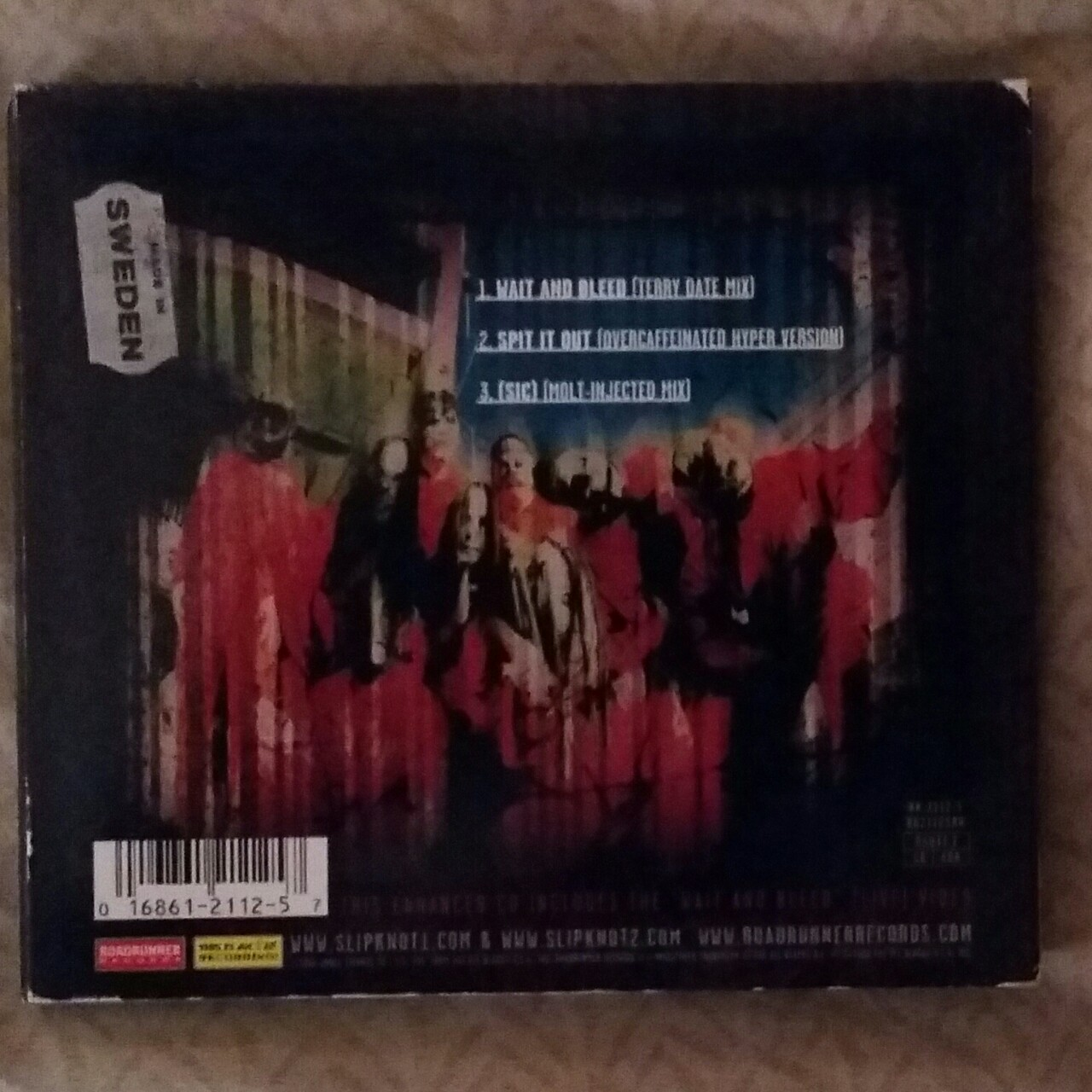 Slipknot Wait And Bleed CD single from '99  Expected    - Depop