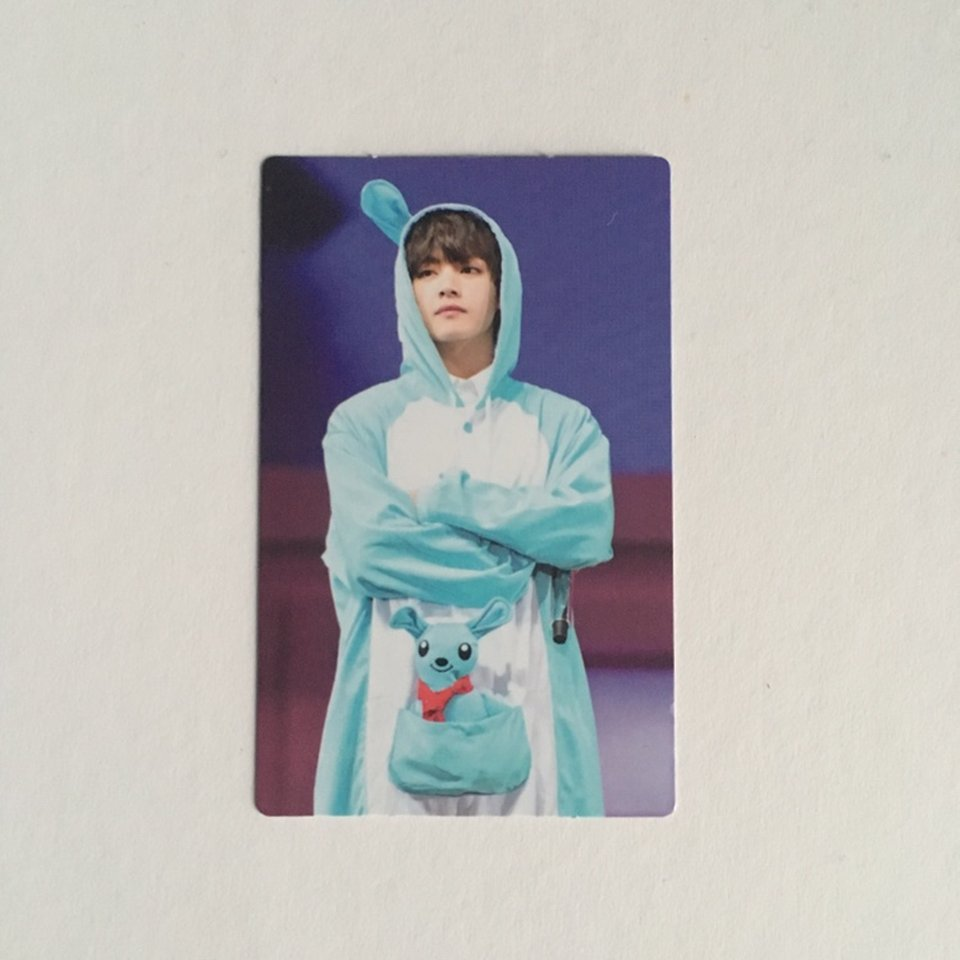 bts official 4th muster dvd photocard taehyung on    - Depop