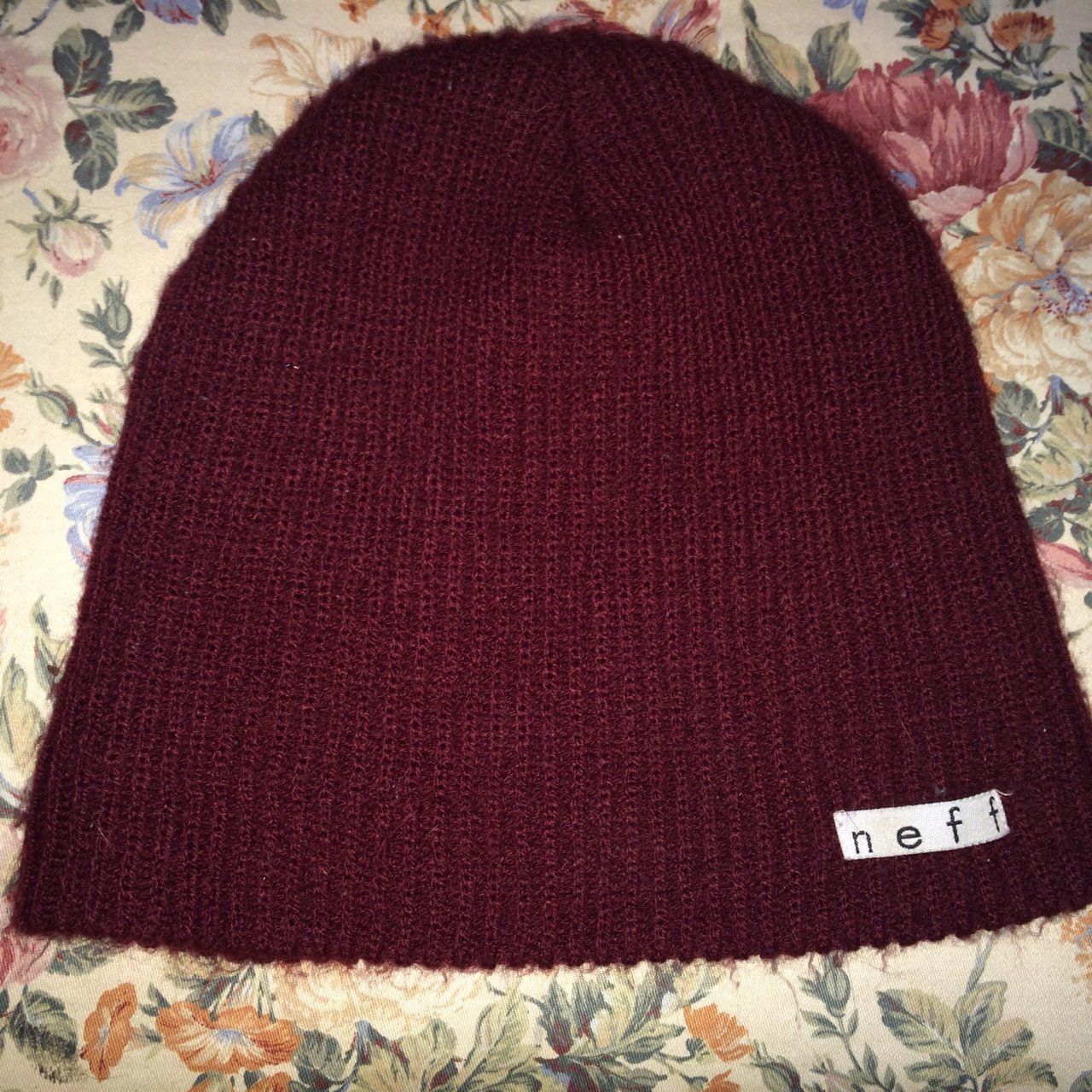 Skater Maroon Neff beanie from zumiez. I bought this last to - Depop 3cd5c6ee0d1