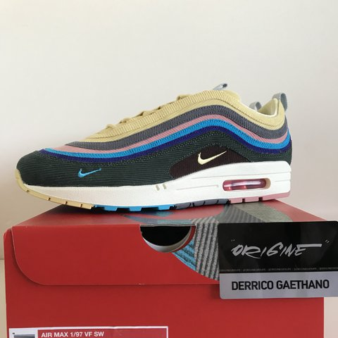 competitive price 9cb77 aaa41 @derrico_hova. 9 months ago. Belgique. Hello , DSWT : Nike air Max 1/97  Sean wotherspoon SW