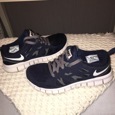 2151f2ca74d Nike Free Run 2 worn a couple of times but in perfect Size 5 - Depop