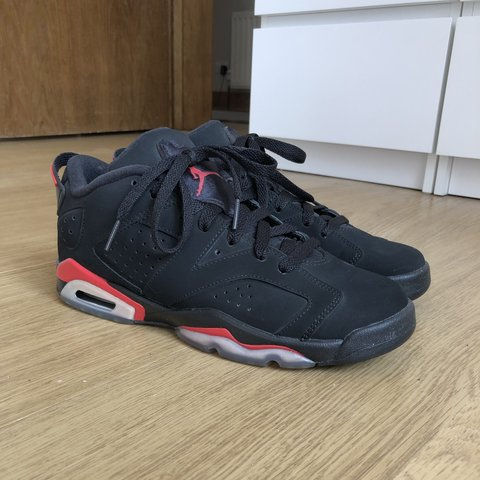 312fcff2fe20 Jordan 6 (VI) Low Chrome customised size 6 Painted with way - Depop