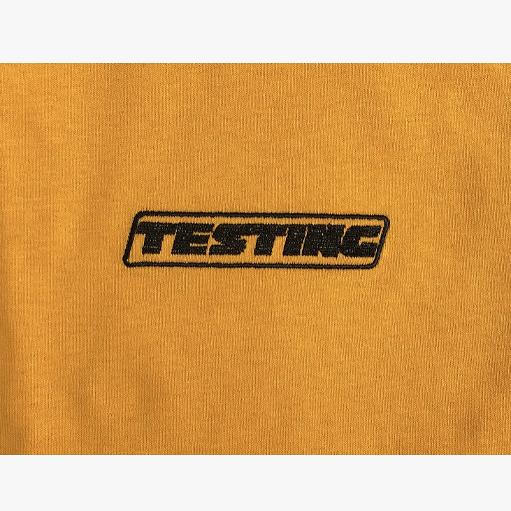 ASAP Rocky 'Testing' T-shirt in yellow ⚠️ Design    - Depop