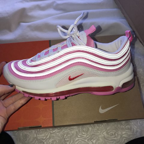 0632408d8722e NIKE AIR MAX 97 97s Pink and white reflective