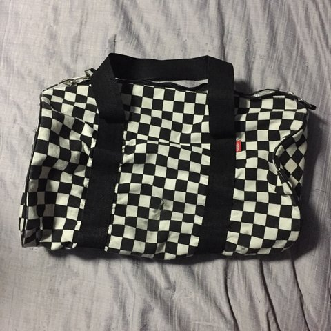 cb6bb26223 Vans Checkered Duffle Bag