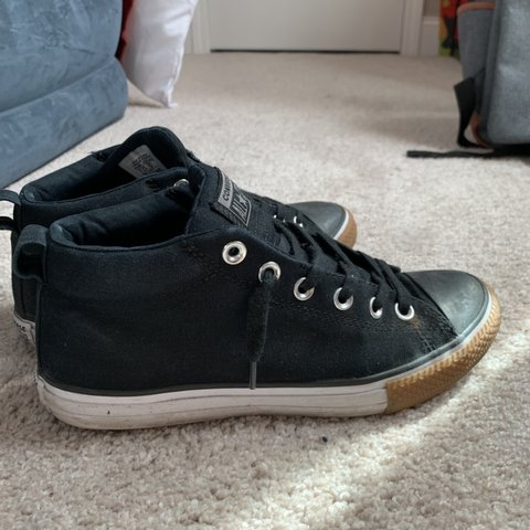 2ce2e6798fbd54 Converse youth size tagged. I wear a 7.5 women   6 in men. a - Depop