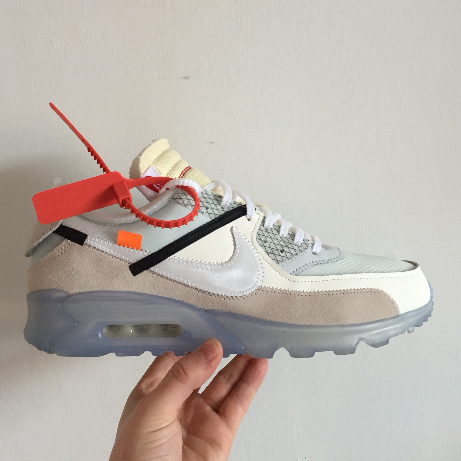"huge selection of e07dd a4a88 Nike Air Max 90 x Off White ""The 10"" by Virgil Abloh... - Depop"