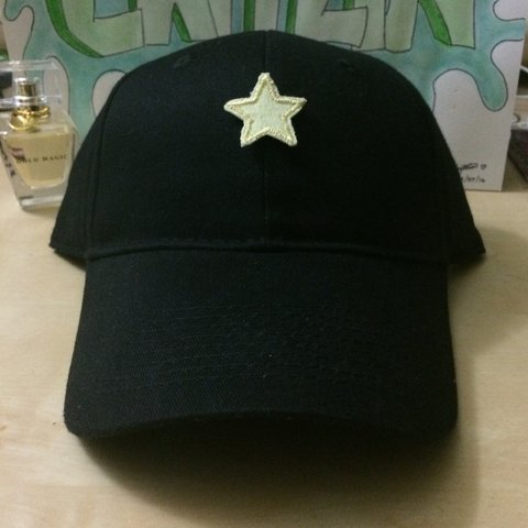 8199e00df62e1f SALE* star patch baseball cap/hat! I only have one of these - Depop