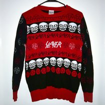 Slayer Ugly Christmas Sweater. Official merchandise. Depop