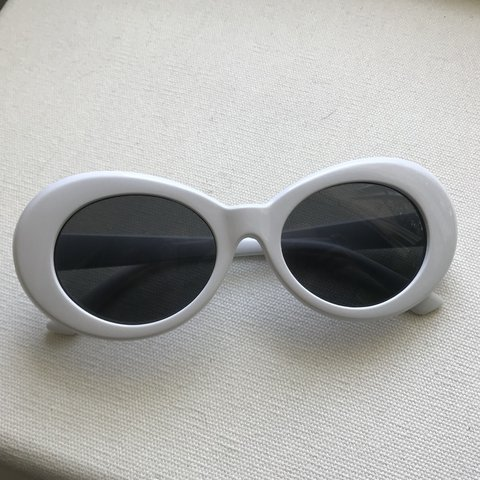 ce181d995c Brand new white clout goggles sunglasses Perfect condition - Depop